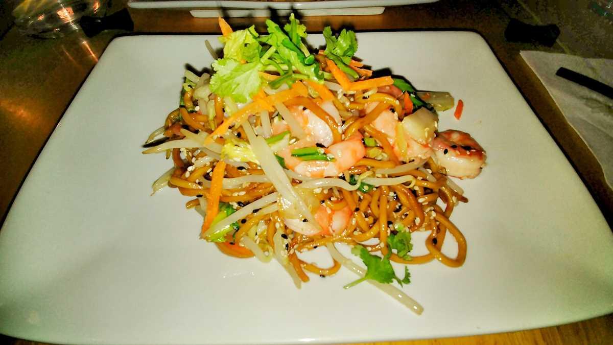Ein asiatisches Restaurant in Paris