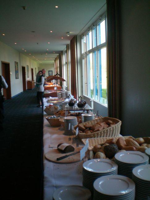 Frühstücksbüffet im Best Western Grand City Hotel Wismar