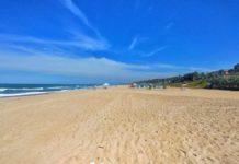 Der Strand von Gambia an den Seafront Residences in Bijillo