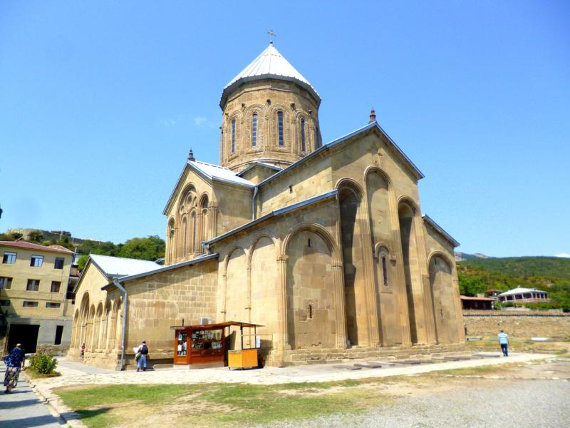 Das historische Samtavro-Kloster in Mtskheta
