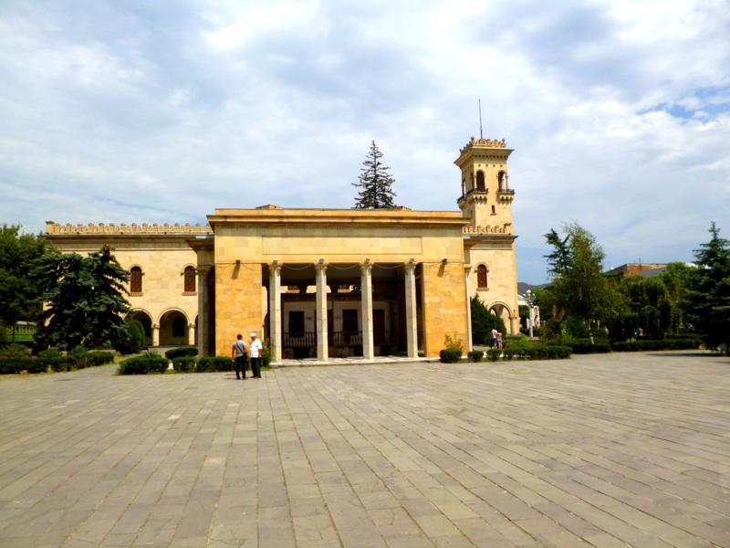 Das Stalinmuseum in Gori