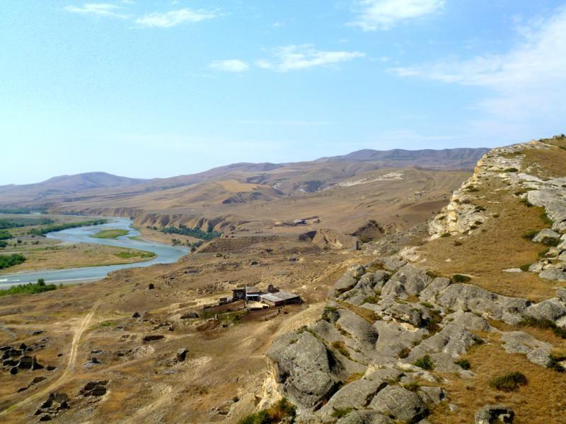 Die historische Felsenstadt von Uplistsikhe