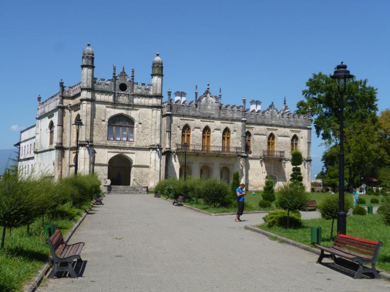 Der Dadianpalast in Zugdidi