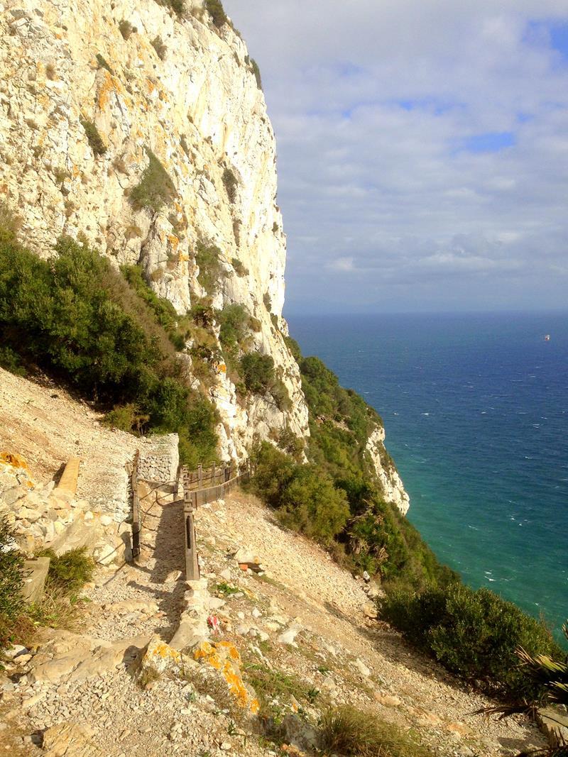 Atemberaubende Ausblicke von den Mediterranean Steps in Gibraltar