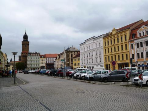 Die historische Altstadt von Görlitz