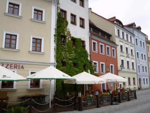 Gemütliches Restaurant im polnischen Zgorzelec