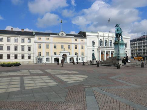 Der Gustav Adolfs Torg, der vielleicht historischste Platz in Göteborg