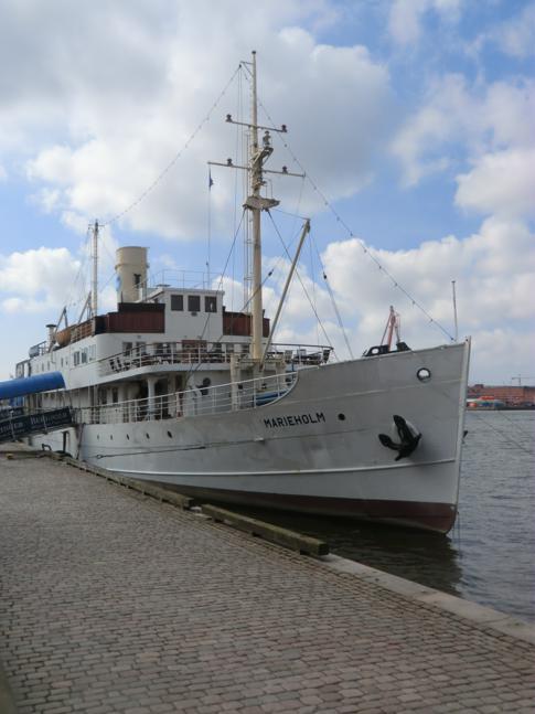Die SS Marieholm in Hafen von Göteborg