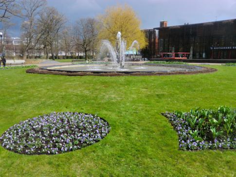 Ein weiterer schöner Park in Göteborg, der Trädgardsforeningen