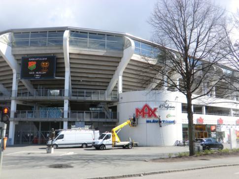 Das Gamla Ullevi, das alte neue Stadion von Göteborg