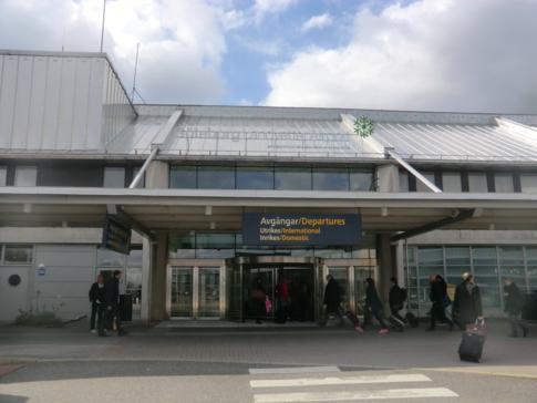 Der Landvetter Airport im Osten von Göteborg