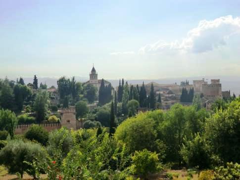 Die Alhambra in Granada im Überblick