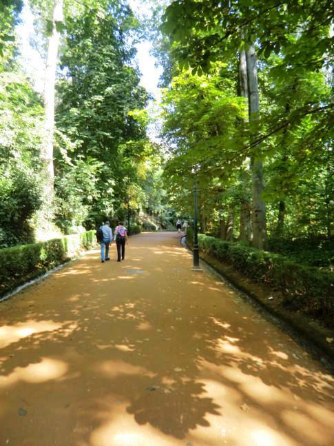 Eingang über die Cuesta de Gomerez zur Alhambra