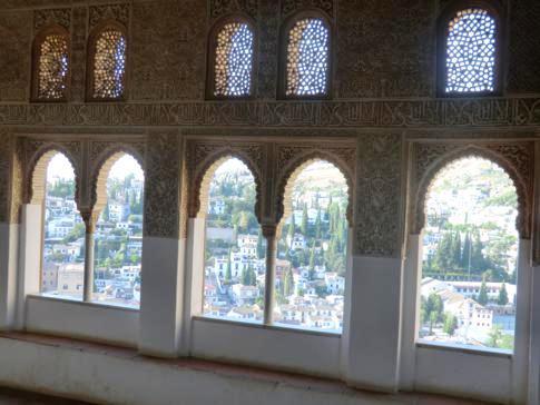 Highlight der Alhambra in Granada: der Nasridenpalast