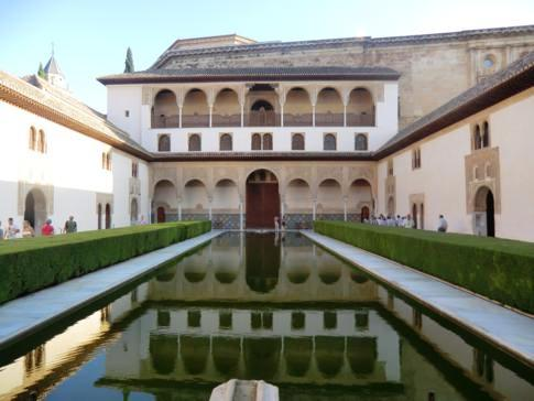 Highlight der Alhambra in Granada: der Nasridenpalast