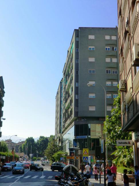 Die Außenansicht des San Anton Hotel in Granada