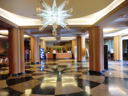 Die Lobby des San Anton Hotel in Granada