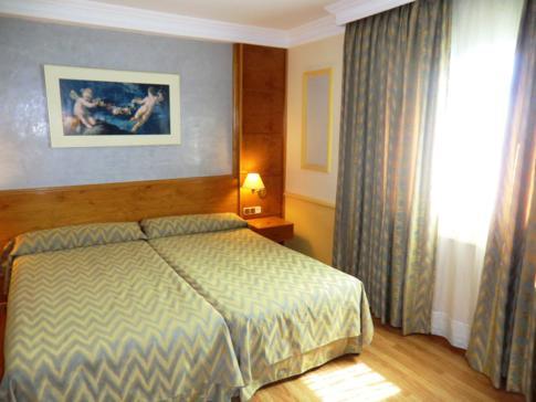 Unser Doppelzimmer im San Anton Hotel in Granada, Andalusien
