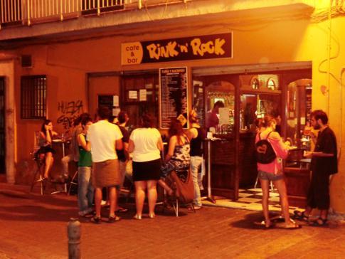 Eine typische Tapas-Bar im Mekka der Gratis-Tapas: Granada