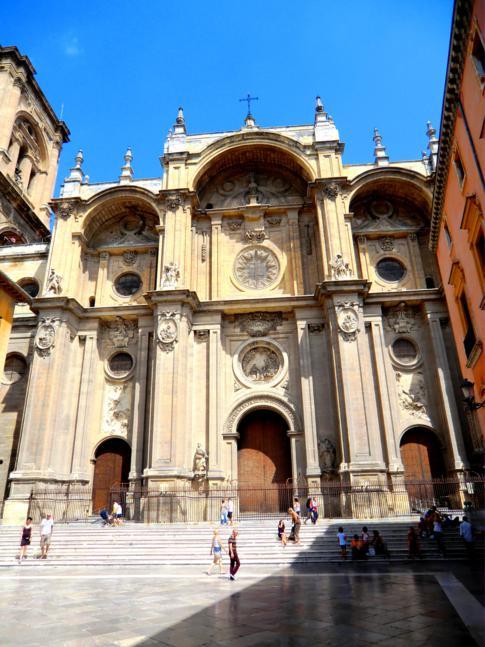 Die historische Innenstadt von Granada