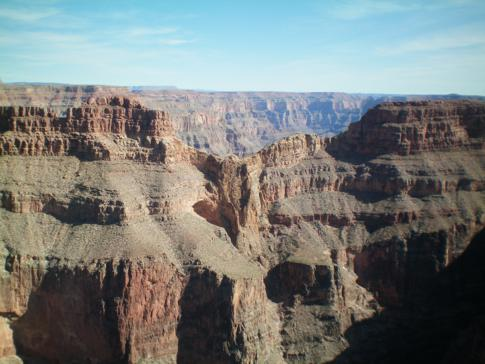 Der erste Blick in den Grand Canyon, hier vom Eagle Point