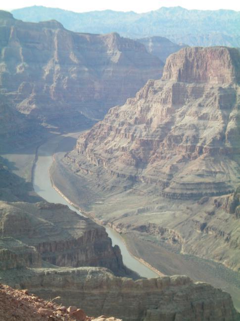 Der Guano Point, zweiter Stop bei der Tour entlang des Grand Canyon West Rim