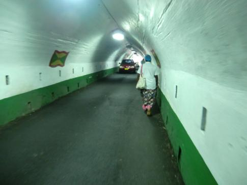 Der Sendall Tunnel in Saint Georges