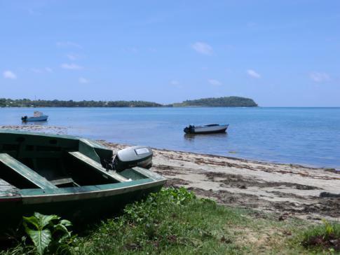 Die Grenville Bay an der Ostküste Grenadas