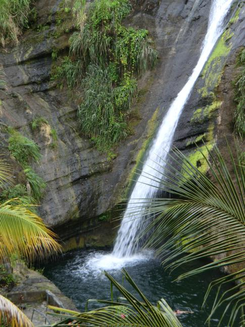 Der untere Concord Wasserfall