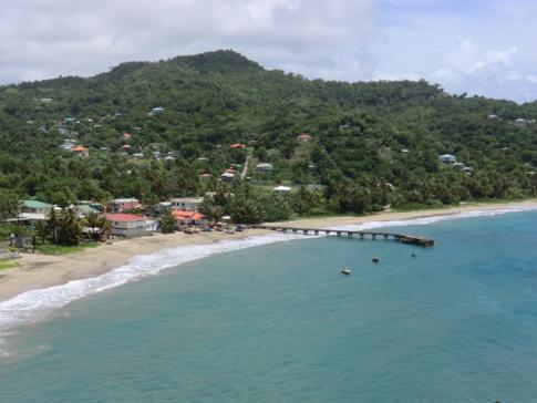 Die Sauteur Bay im Norden von Grenada