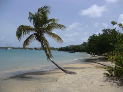 Der Strand bei den Lance aux Epines Cottages