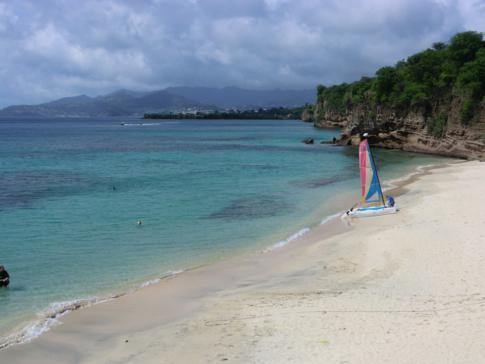 Blick vom Grenadian by Rex Resorts auf die Devils Bay
