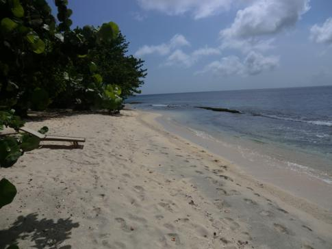 Der Magazine Beach in Grenada