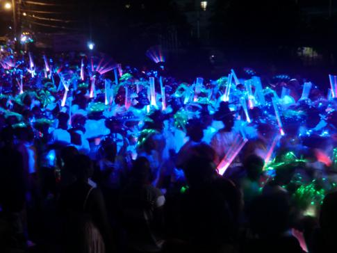 Karneval in Grenada, auch Spicemas genannt - hier das Monday Night Mas