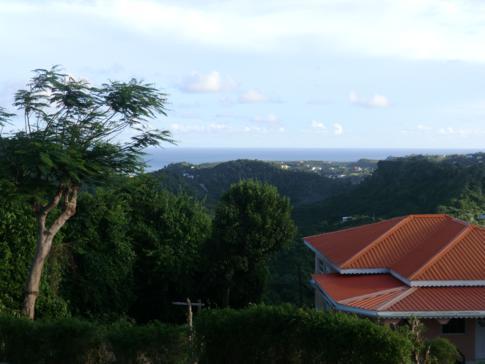 Ausblick vom Mt. Airy auf die Ostküste von Grenada