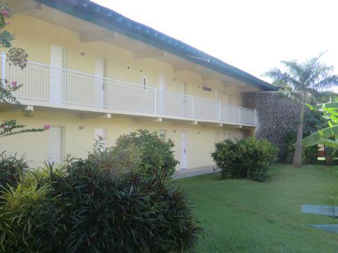 Der alte Gebäudekomplex im Grenada Grand Beach Resort
