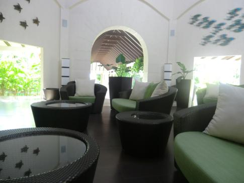 Die Lobby im Grenada Grand Beach Resort