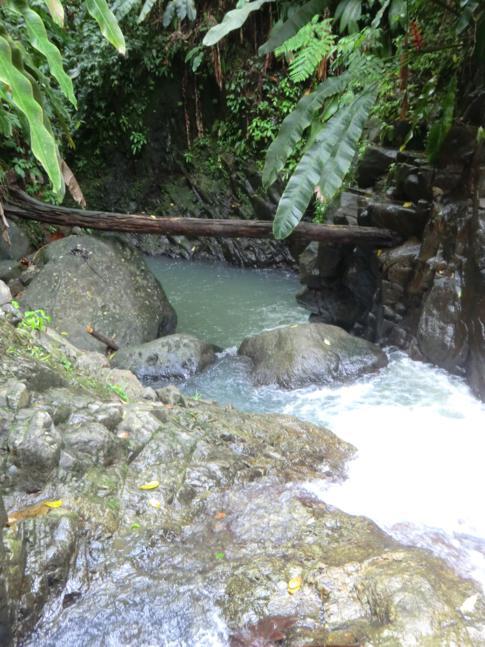 Die oberen Wasserfälle der Seven Sister Falls in Grenada
