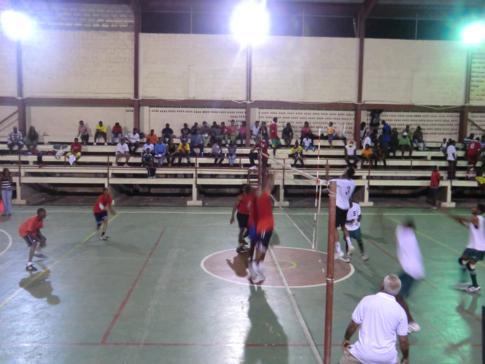 Das Männer-Finale 2011 der Grenada Volleyball Association
