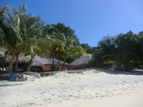 Der Dr. Grooms Beach an der Südwestküste von Grenada
