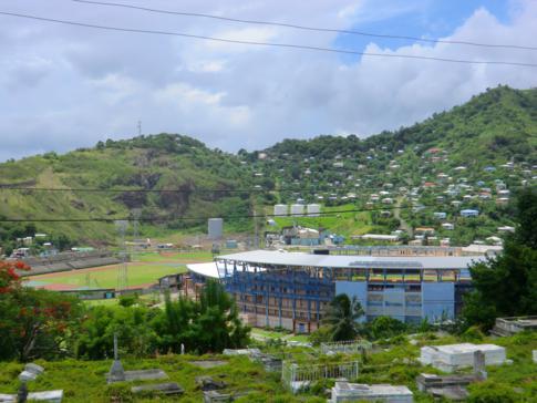 Das Nationalstadion von Grenada