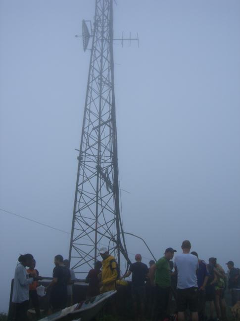 Gipfel des höchsten Berges von Grenada, dem Mount St. Catherine