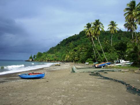 Die Duquesne Bay im Norden von Grenada