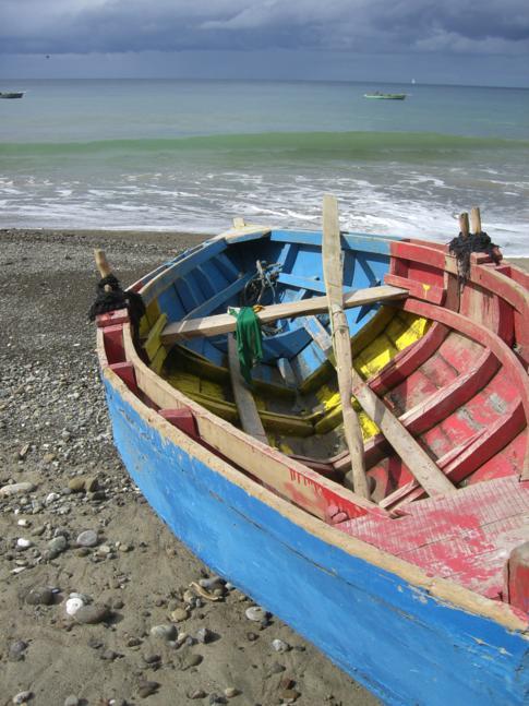 Die Duquesne Bay zwischen Victoria und Sauteurs im Norden von Grenada