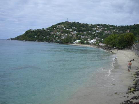 Blick auf die Bucht von Grand Mal