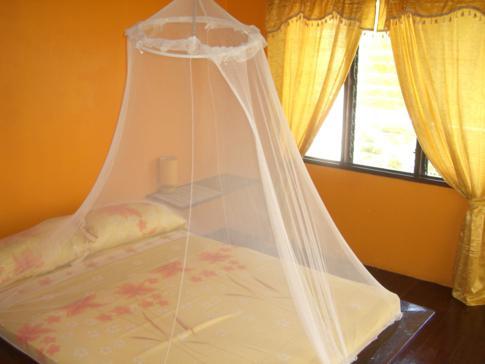 Ein Doppelzimmer in der Cabier Ocean Lodge in Grenada