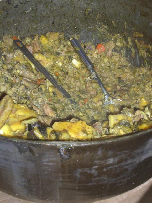 Oildown - das Nationalgericht in Grenada