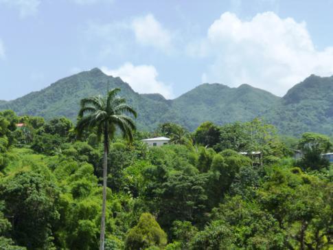 Grenadas Berge