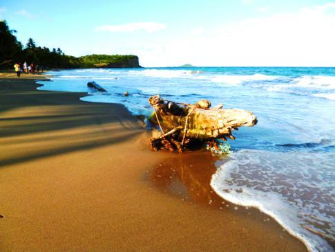 Die Antoine Bay an der Ostküste von Grenada während des Hash Nr 100%