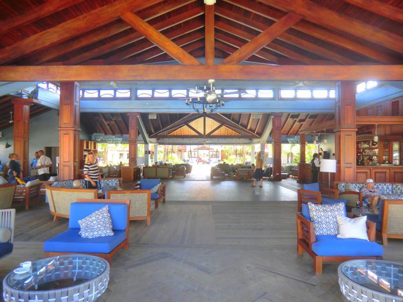 Der Living Room, gewissermaßen der Aufenthaltsraum im Resort